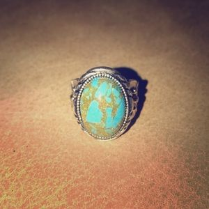 Turquoise.925 ring